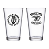 Rocker Crest & Grenade Skull Pint Glass Bundle