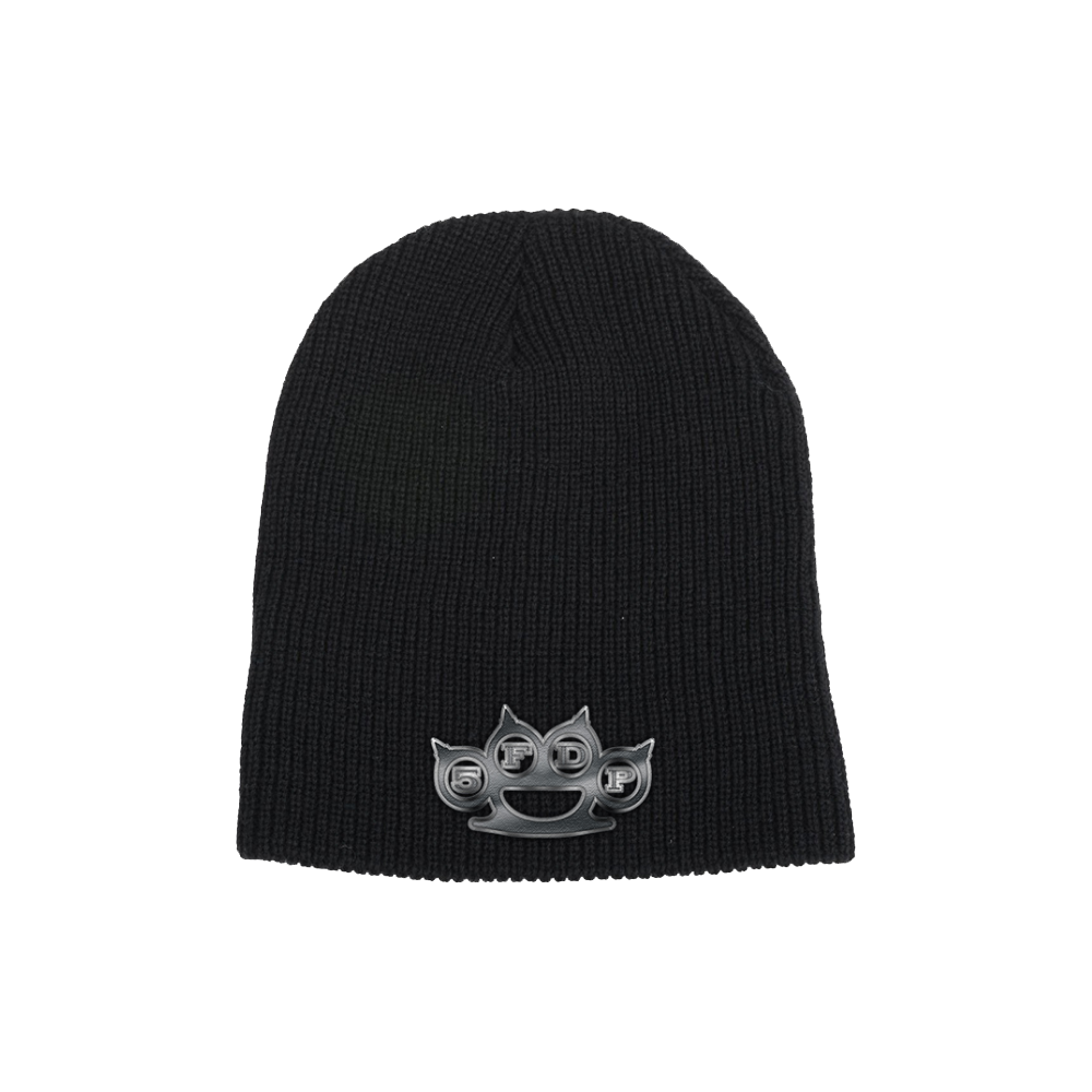 Brass Knuckles Patch Beanie