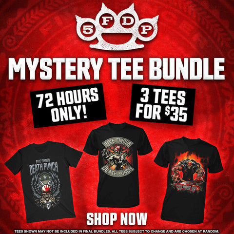 Five Finger Death Punch Mystery Bundle