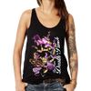 Octopus Skull Ladies Racerback Tank