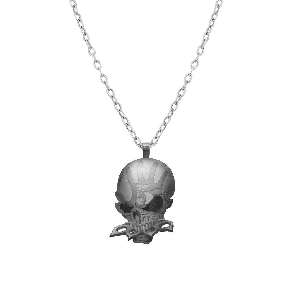 gold com pendant blackpearl black product plated original notonthehighstreet skull necklace by pearl rose