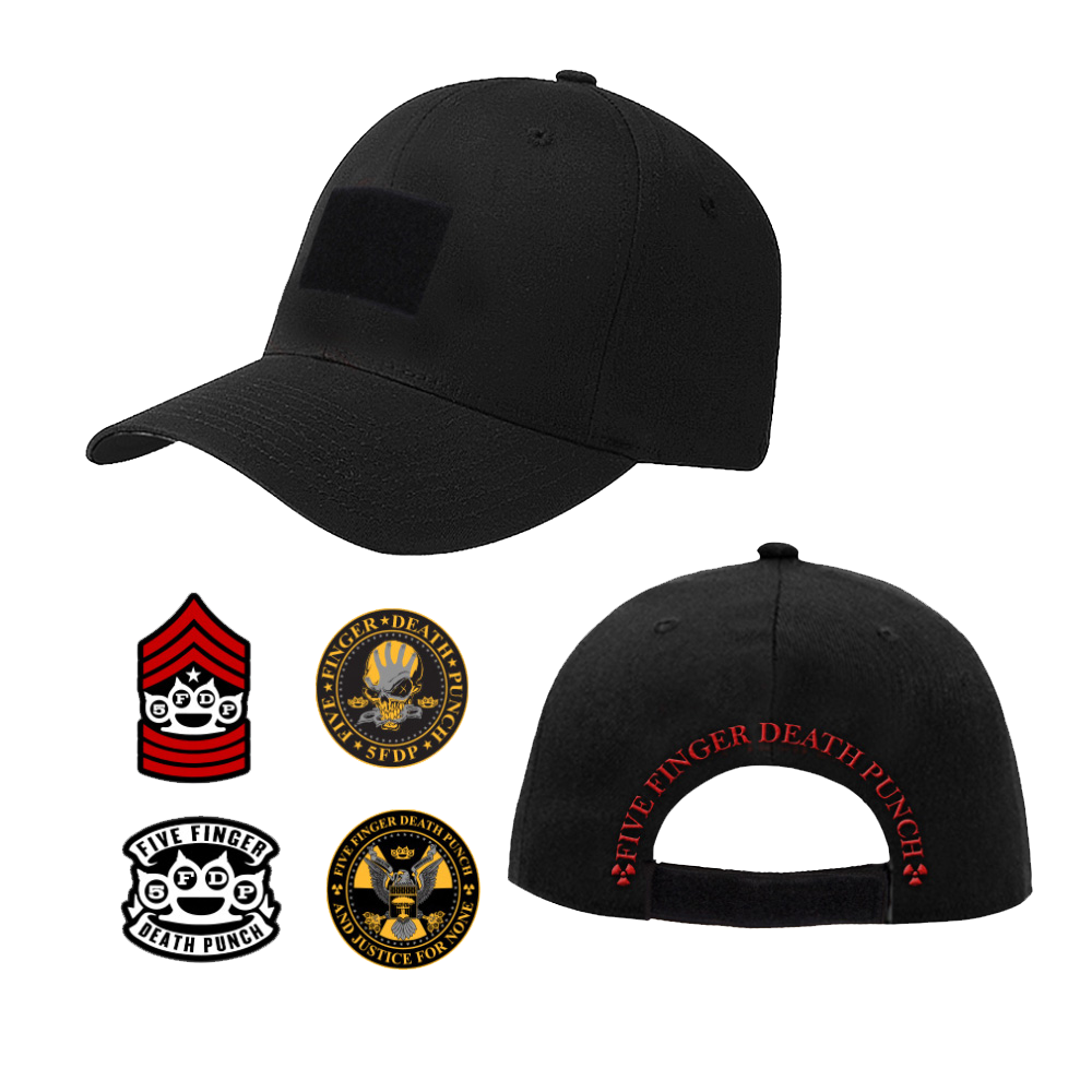 Interchangeable Velcro Patch Hat – Five Finger Death Punch 78747a869de