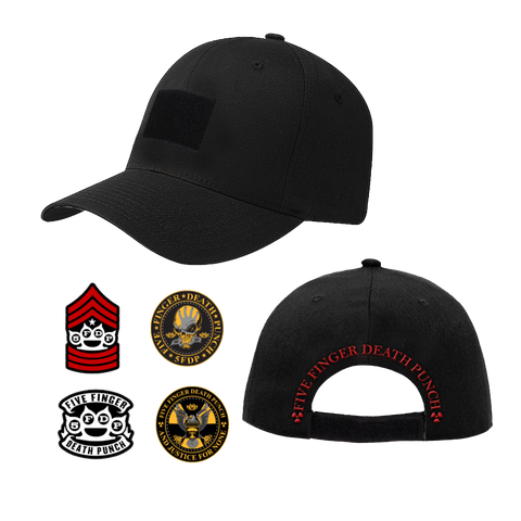 Interchangeable Velcro Patch Hat