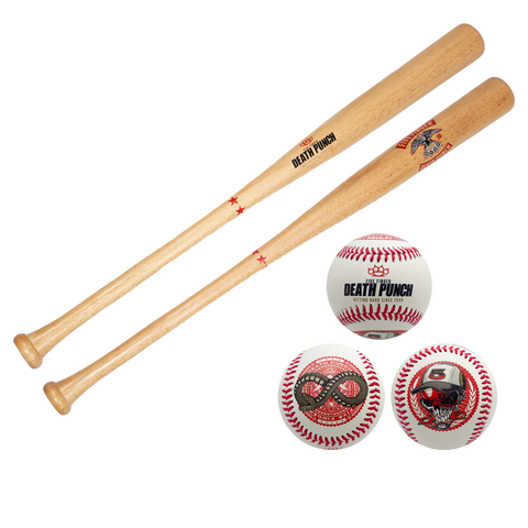 Eagle Strike Baseball Bat and Skully Ball Bundle