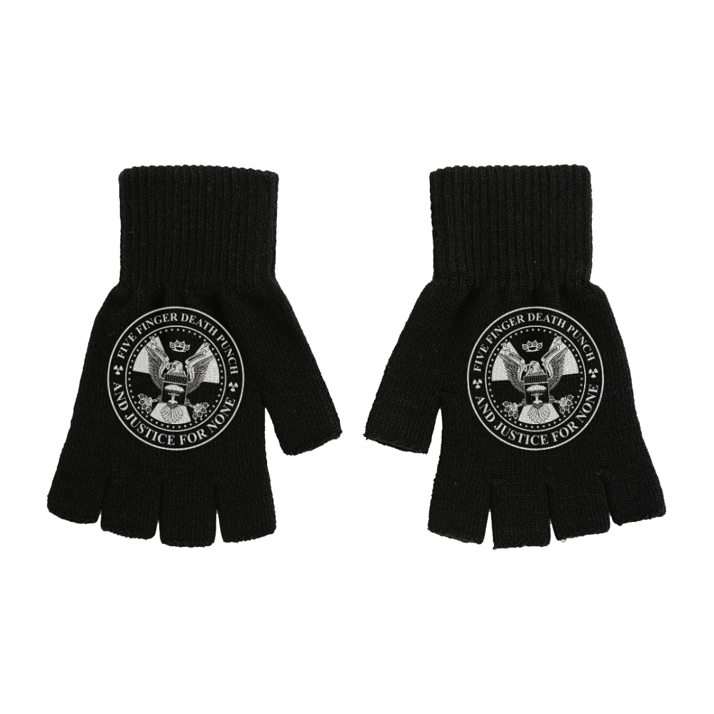 Presidential Seal Fingerless Gloves