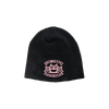 Banner Knuckle Embroidered Logo Beanie Pink