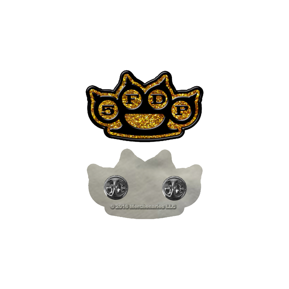 Brass Knuckles Pin