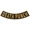 Death Punch Black and Gold Patch