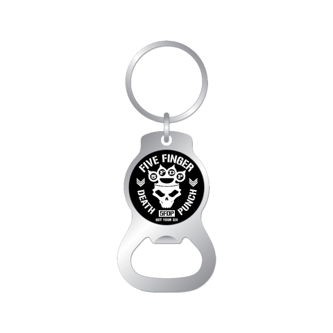 Got Your Six bottle Opener Keychain