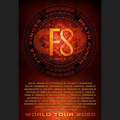 2020 World Tour F8 Poster