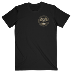 Justice For None Gold Seal Tee