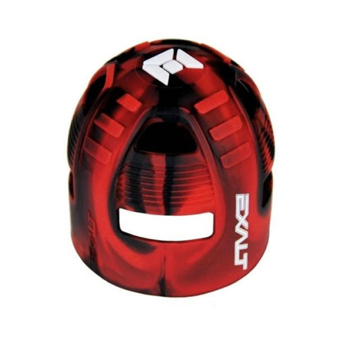Exalt Tank Grip Black Red Swirl