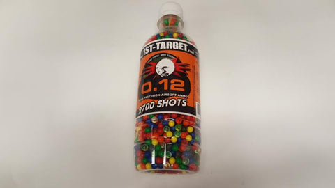 Airsoft .12 gram BB Bottle