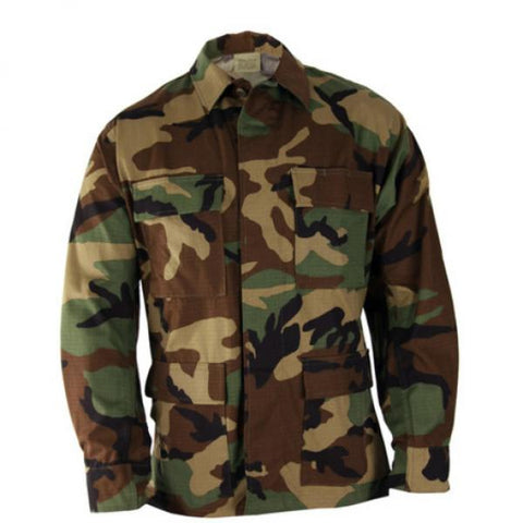 BDU Shirt Woodland - Shop Cousins