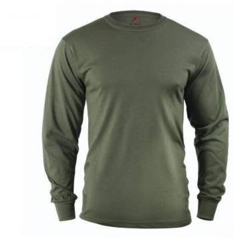 Long Sleeve T-Shirt Olive Drab