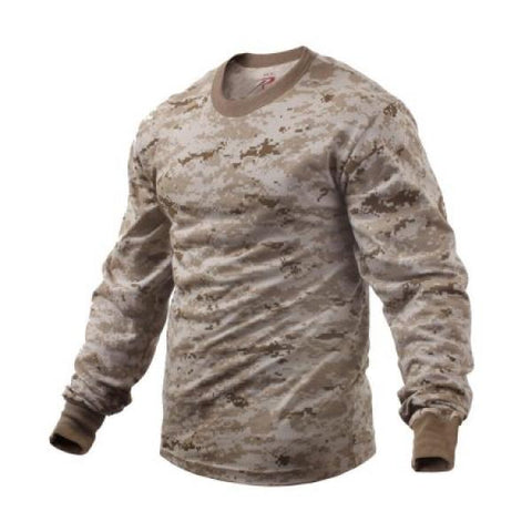 Long Sleeve T-Shirt Desert Digital