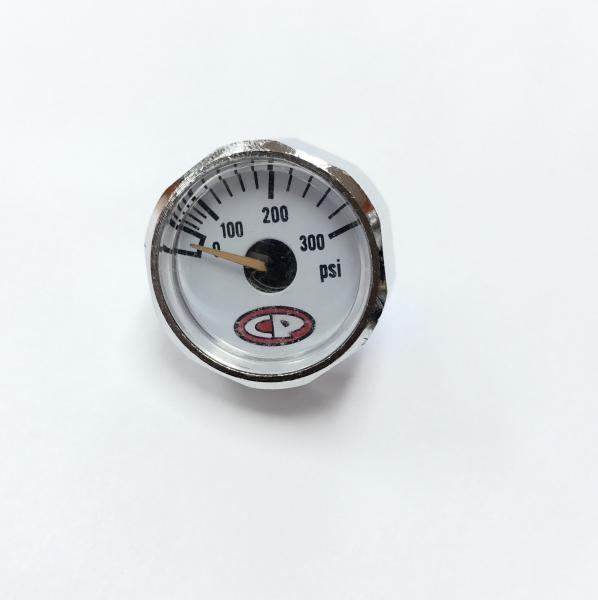 Custom Products Micro Gas Gauge 300 PSI