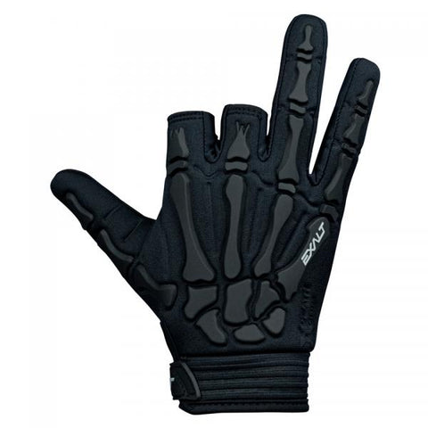 Exalt Death Grip Gloves Small Black/ Black - Shop Cousins
