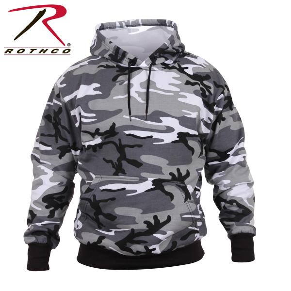Hooded Sweatshirt Urban Camo