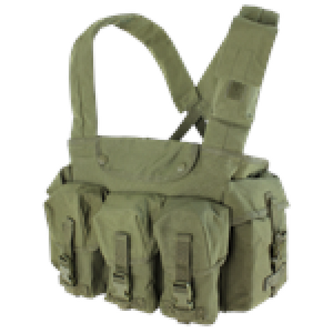 Condor Seven Pocket Chest Rig Olive