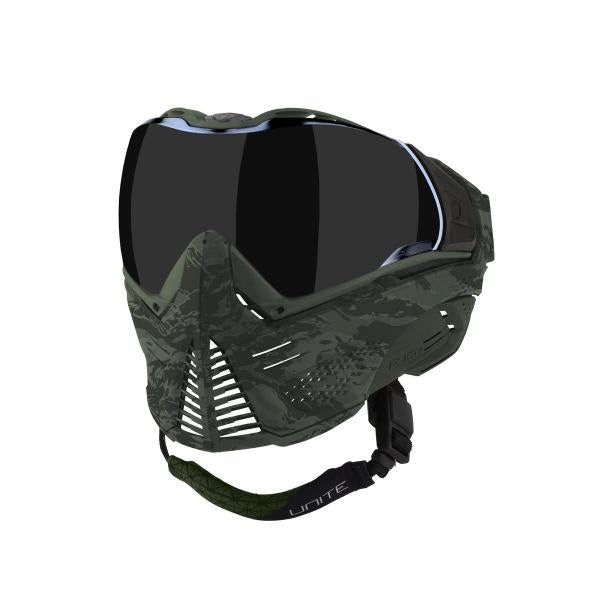 Push Unite Paintball Mask w/ Smoke Lens Olive Camo
