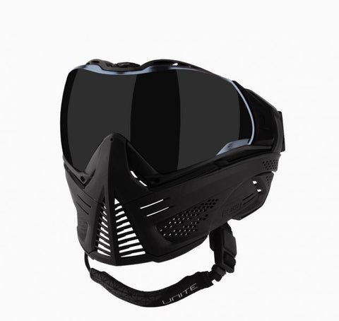 Push Unite Paintball Mask w/ Smoke Lens Blackout - Shop Cousins