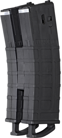 Tippmann TMC Magazine with Coupler Two Pack Black