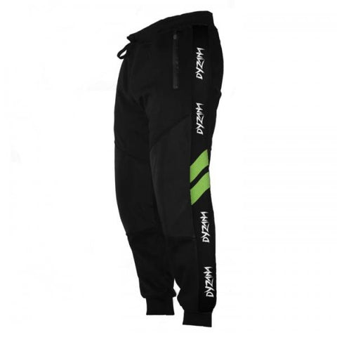 Dyzana Jogger Pants - Black/ Lime - XXL - Shop Cousins