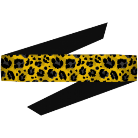 Dyzana Headband - Cheetah Yellow - Shop Cousins