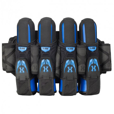 HK Army Magtek Harness 4+3 Black/ Blue