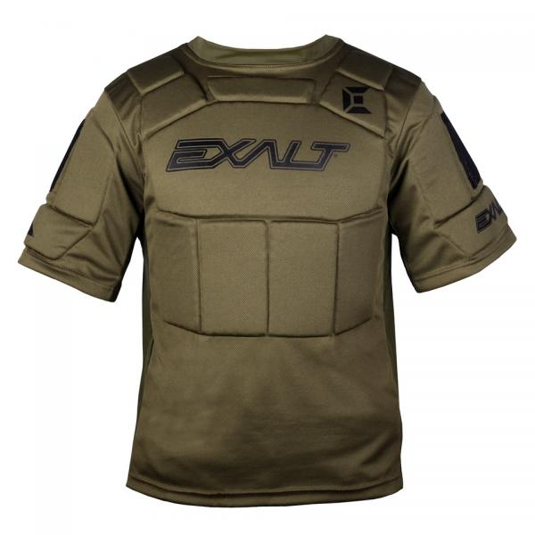 Exalt Alpha Chest Protector Olive Youth