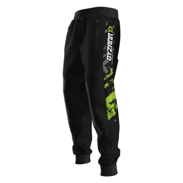 Dyzana Jogger Pants V2- Grunge Lime - Small