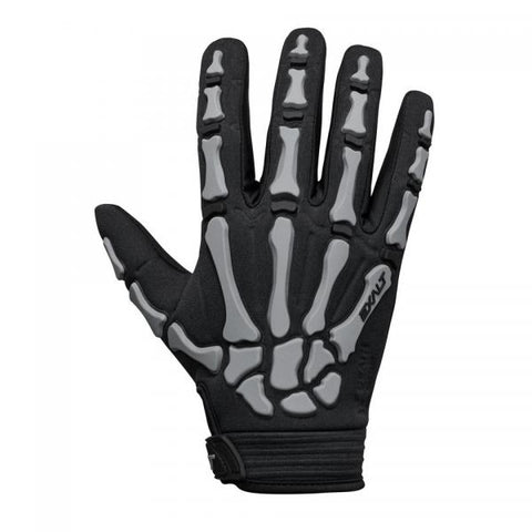 Exalt Death Grip Gloves Full Finger  Black/ Grey Medium