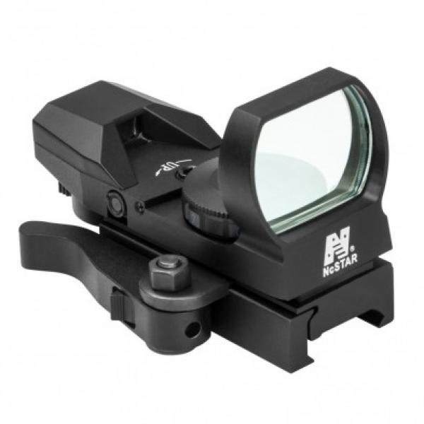NC Star Green 4 Reticle Sight Quick Release Mount