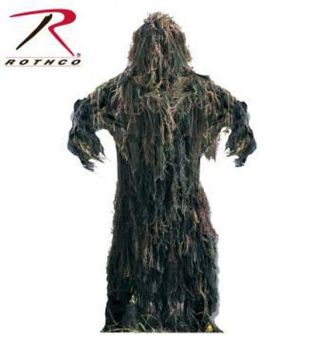 Ghillie Suit Lightweight - Woodland - XL/ XXL