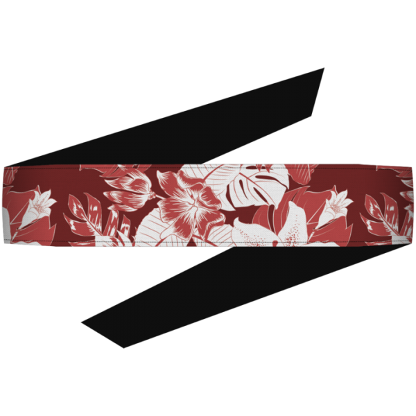 Dyzana Headband - Hawaiian Red