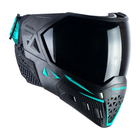 Empire EVS Goggles Black/ Aqua - Thermal Ninja/ Thermal Clear