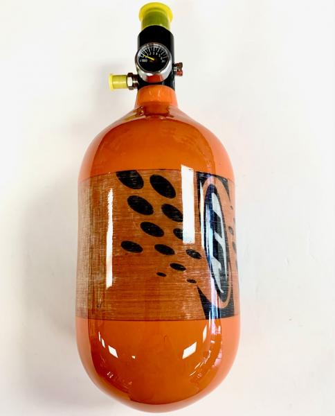 JT 68cu 4500 psi Compressed Air Tank - Orange