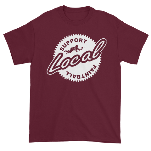 Locals Tee Shirt Burgundy - Shop Cousins