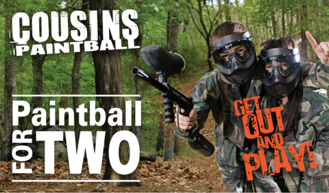 Paintball For Two - Shop Cousins
