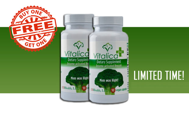 Buy One Get One Free Vitalica Plus!