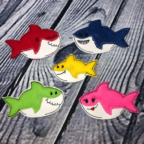 Baby Shark Family Finger Puppets