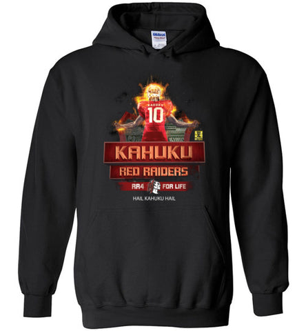 Kahuku Football on Fire - Hoodie