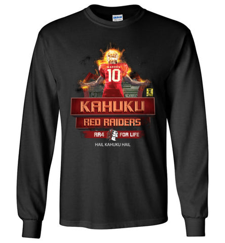 Kahuku Football on Fire - Long Sleeve