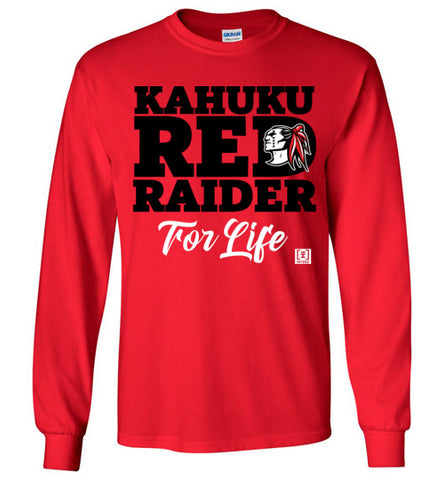 Kahuku Red Raider For Life