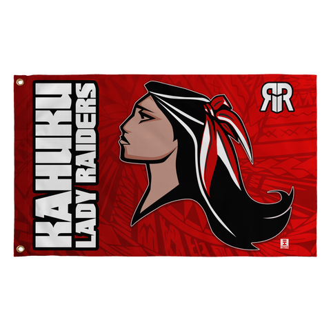 Kahuku Lady Raiders Flag - Large