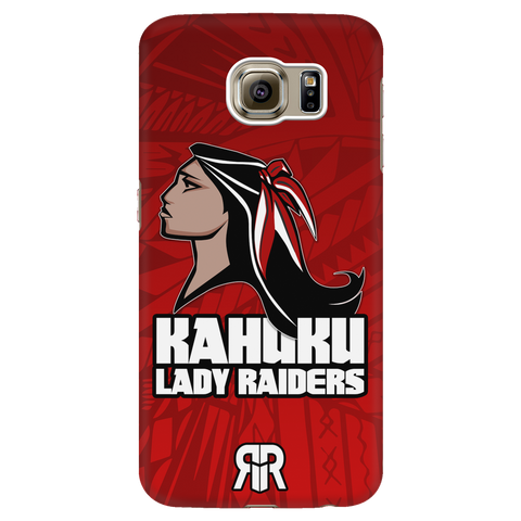 Lady Raider Galaxy S6 Phone Case