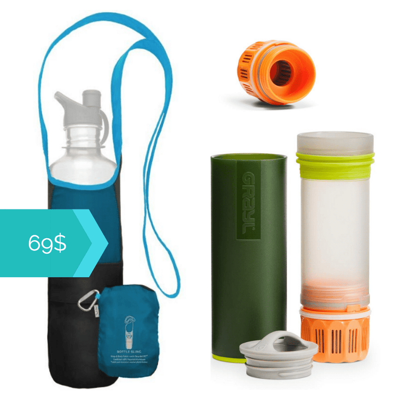 Purify your water anywhere