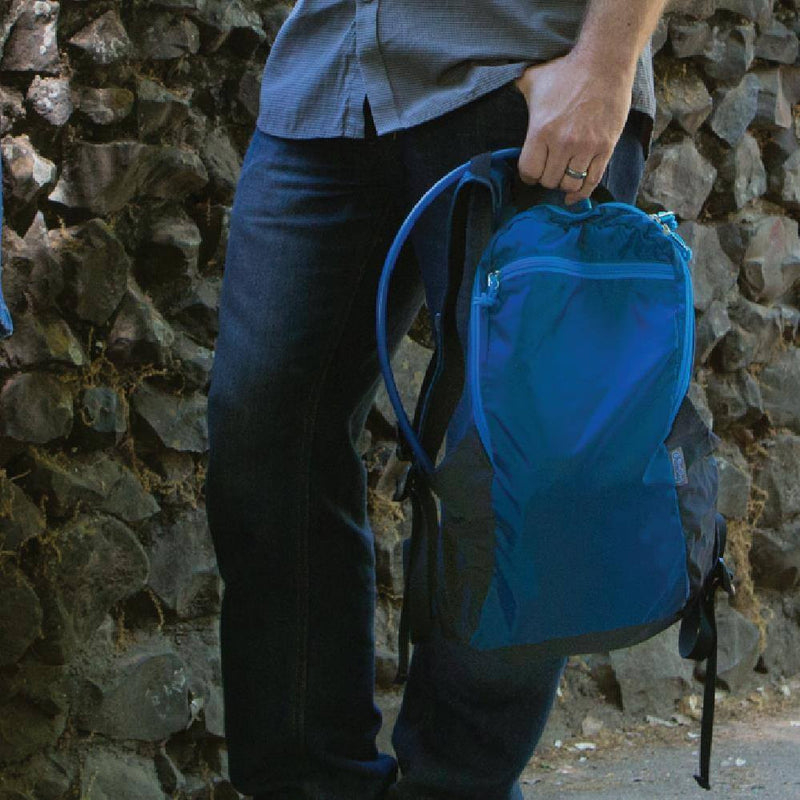 recycled foldable backpack