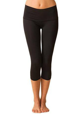 The Ultimate Travel Capri Legging | Recycled | Made in USA |